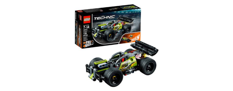 LEGO Technic WHACK! 42072 Building Kit with Pull Back Toy Stunt Car