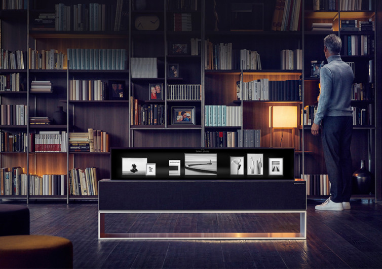 LG OLED 4K Roll Out TV