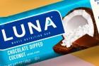 LUNA BAR - Gluten Free Bar - Chocolate Dipped Coconut