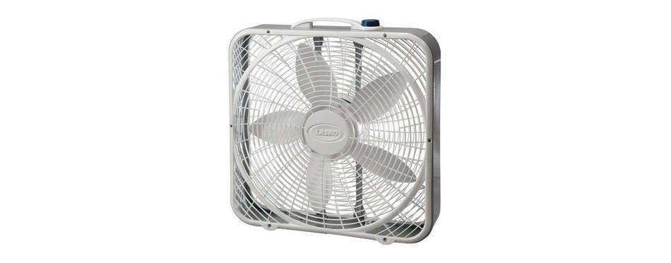 lasko 3733 ventilateur de boîte, 3 vitesses, 20 pouces
