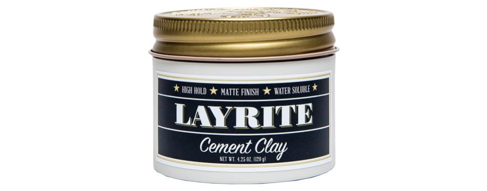 Layrite Hair Clay (Cement)