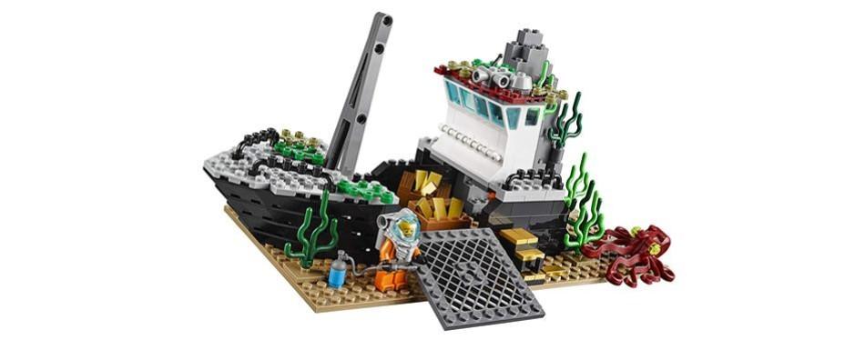 Lego City Deep Explorers Exploration Vessel
