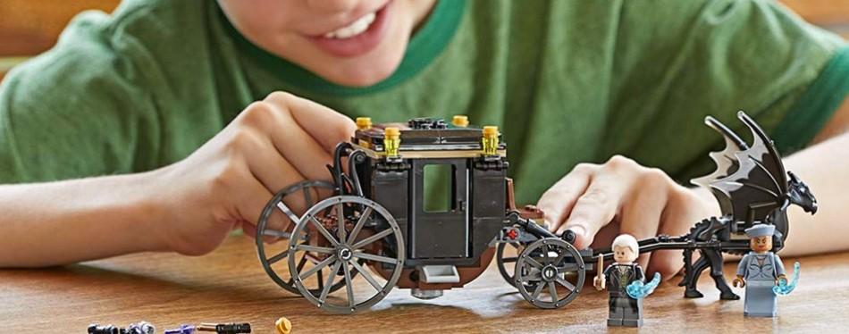 Lego Harry Potter Fantastic Beasts Grindewald Escape Set