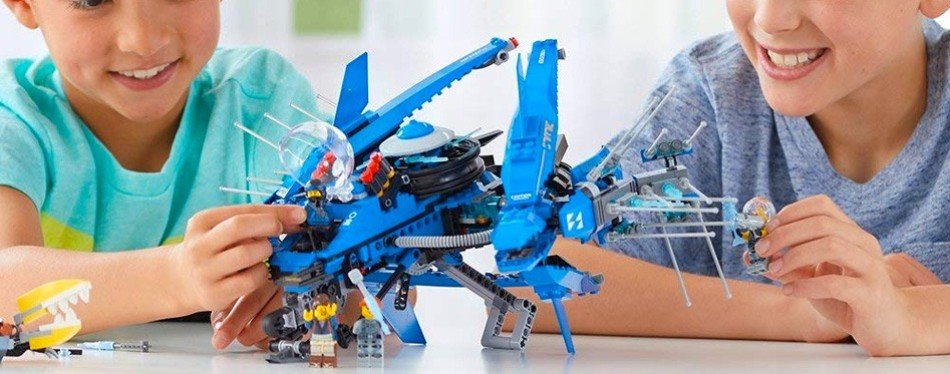 Lego Ninjago Movie Lightning Jet Building Kit