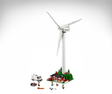 Lego Vestas Wind Turbine