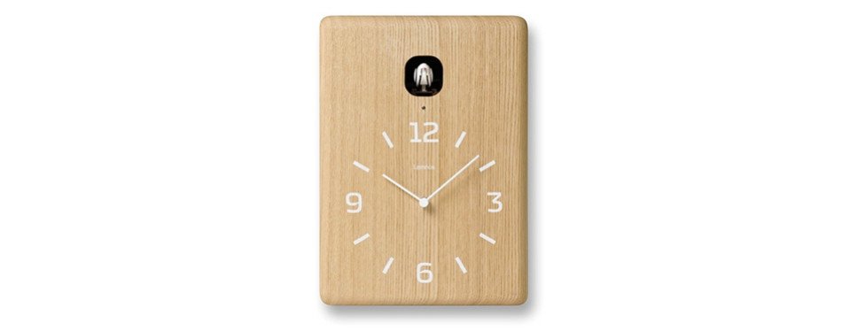 Lemnos Cucu Wall Clock