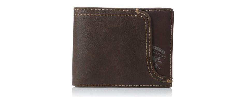 Levi's Men's Leather Passcase Wallet