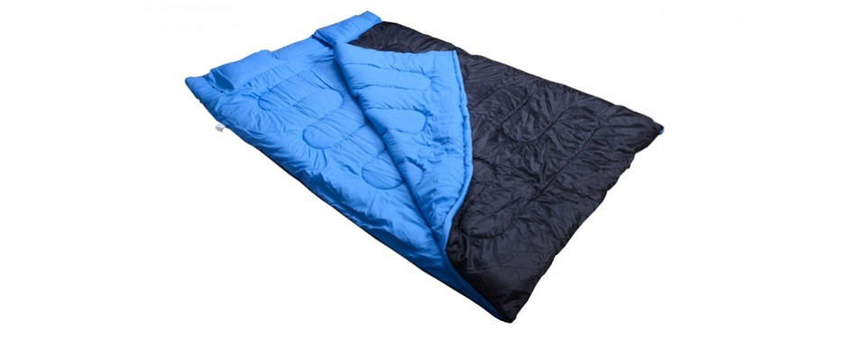 Lightweight Double Sleeping Bag By Outsunny Camping