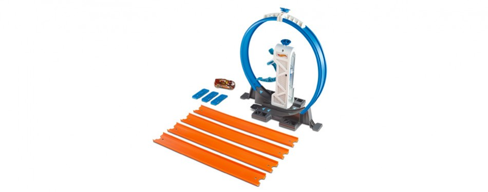 Loop Launcher Playset Hot Wheels Track