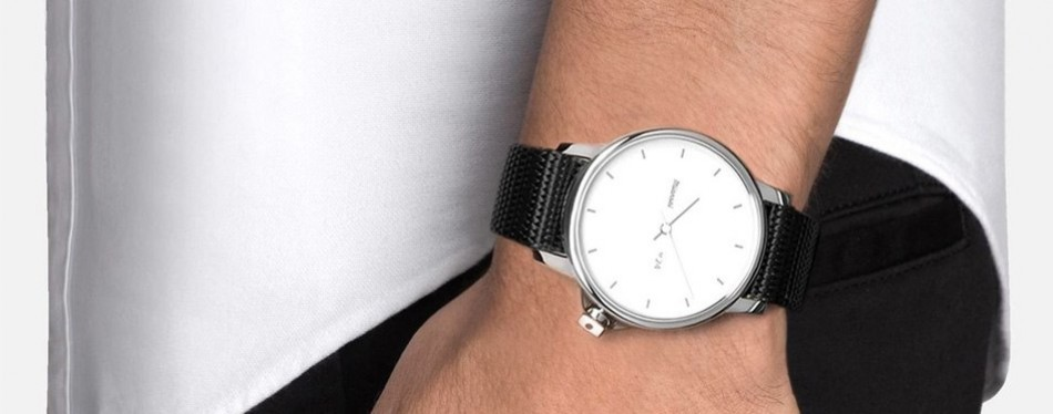 M24 White Black Nylon Watch