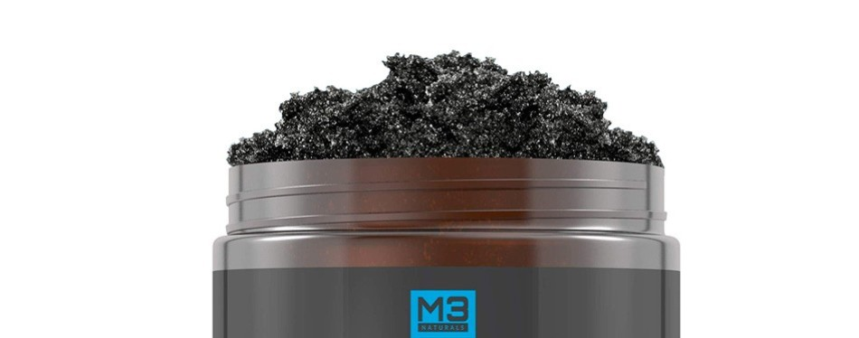 M3 Premium Activated Charcoal Scrub