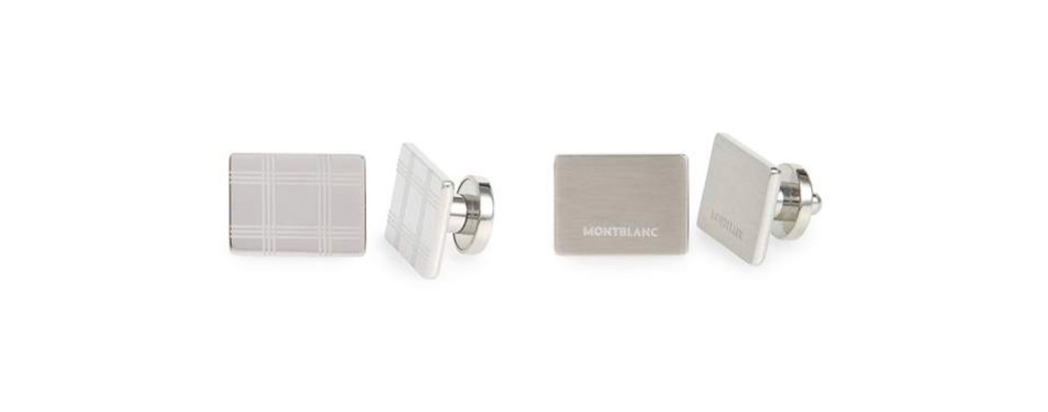 MONTBLANC Check Cuff Links