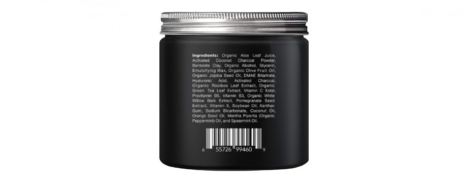 Majestic Pure's Activated Charcoal Mud Face Mask for Men