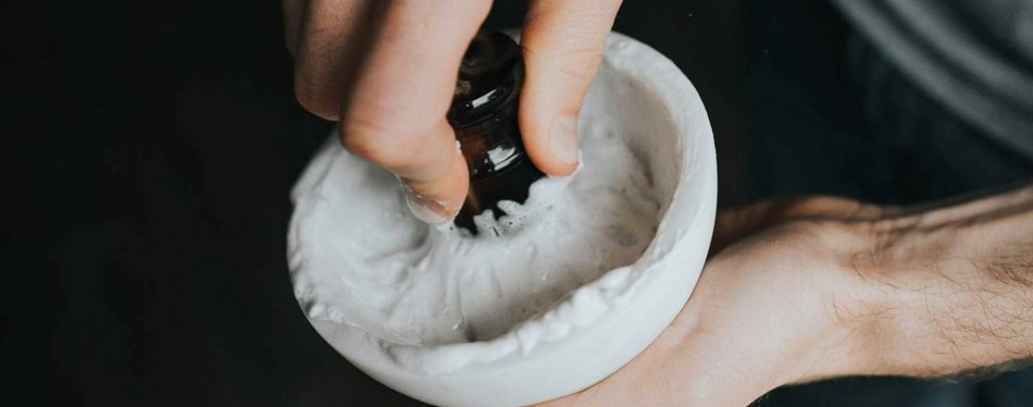 Marble Shaving Bowl by Supply