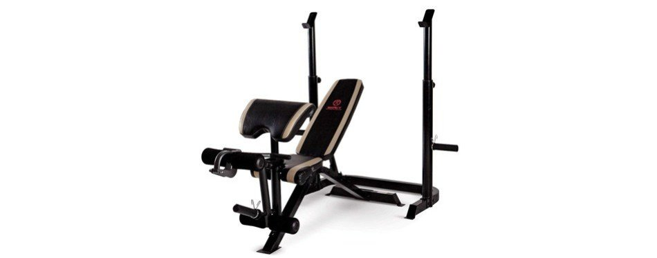 Marcy Adjustable Olympic Weight Bench and Squat Rack