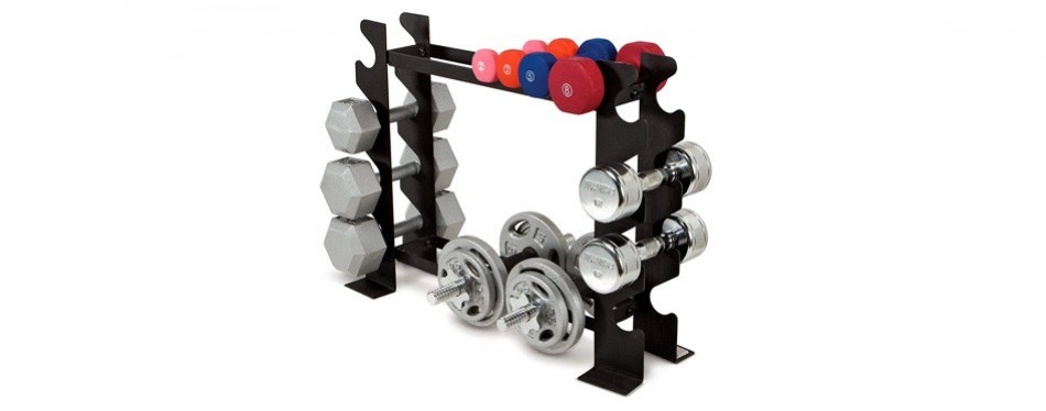 Marcy Compact Free Weight Dumbbell Rack
