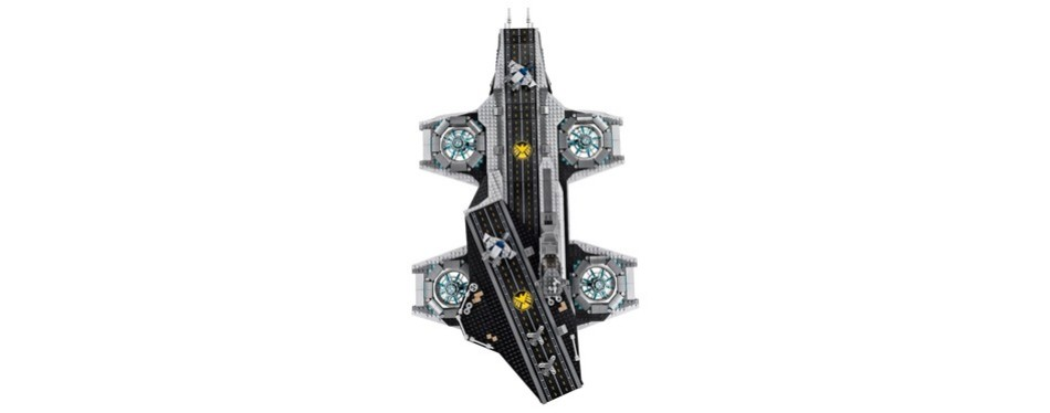 Marvel Super Heroes SHIELD Helicarrier Lego Set