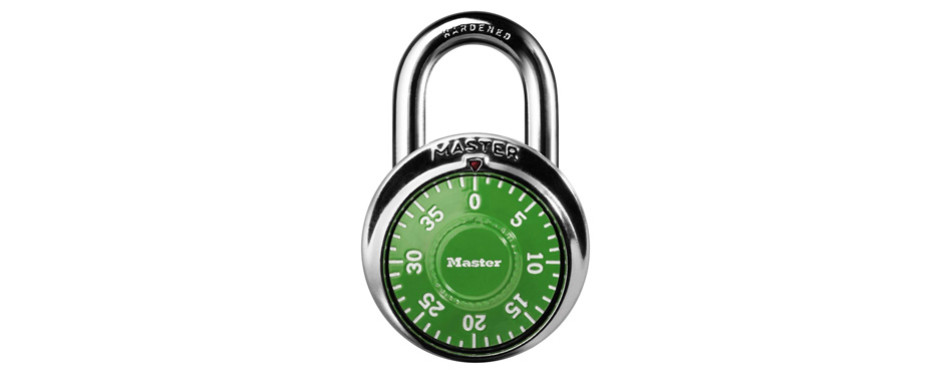 Master Lock 1505D Locker Combination Padlock