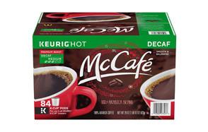 McCafe Decaf Premium Roast Keurig K Cup Coffee Pods