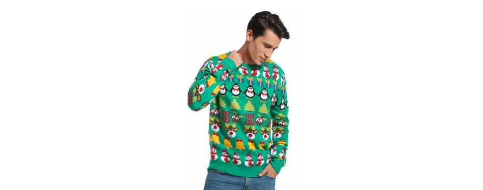 Men's Christmas Decorations Christmas Jumper