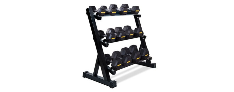 Merax 3-Tier Dumbbell Rack