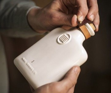Misc. Goods Co. Ceramic Flask