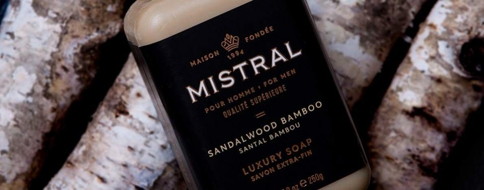Mistral Men's Soap Sandalwood Bamboo