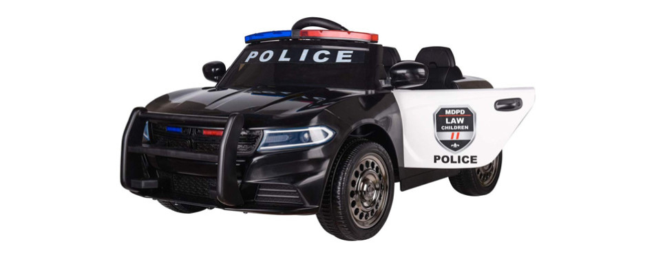 Modern-Depo Police Pursuit 12V Electric Ride On Car