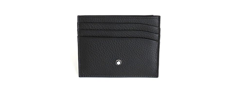 Mont Blanc Men's Meisterstuck Front Pocket Wallet