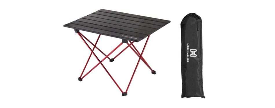 Moon Lence Portable Lightweight Folding Camping Hiking Picnic Table