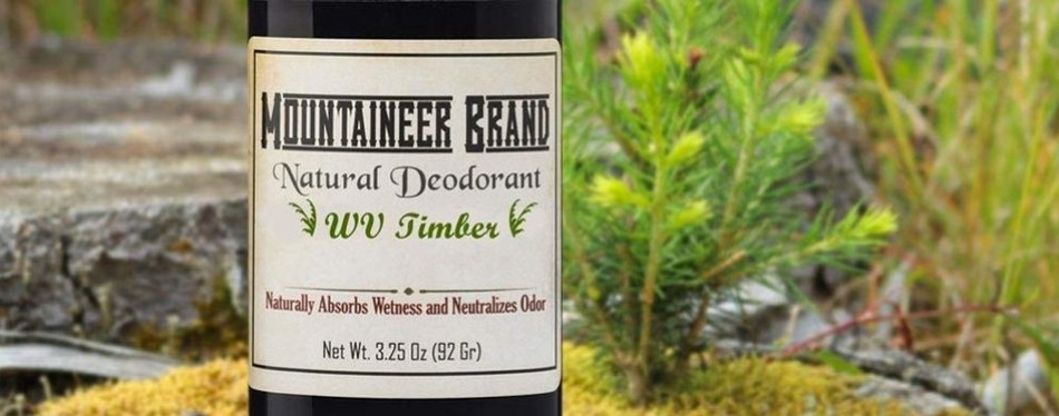 Mountaineer Brand All Natural Deodorant