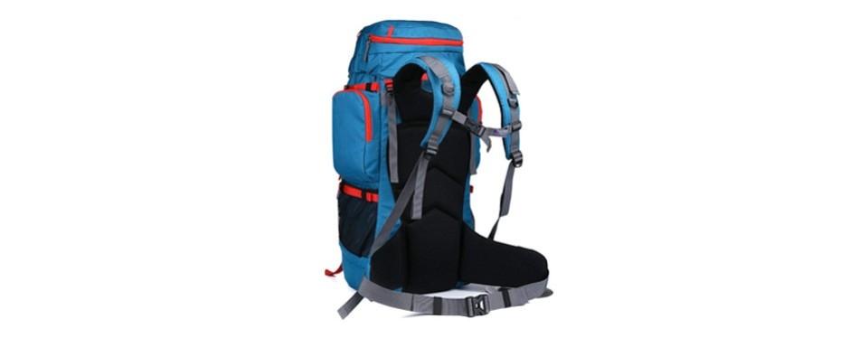 Mountaintop 55L70L + 10L Internal Frame Backpack