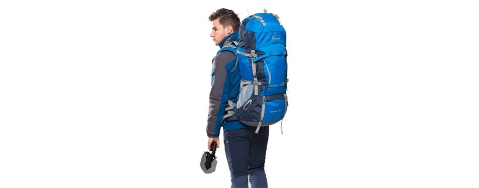 Mountaintop 70L + 10L Internal Frame Backpack