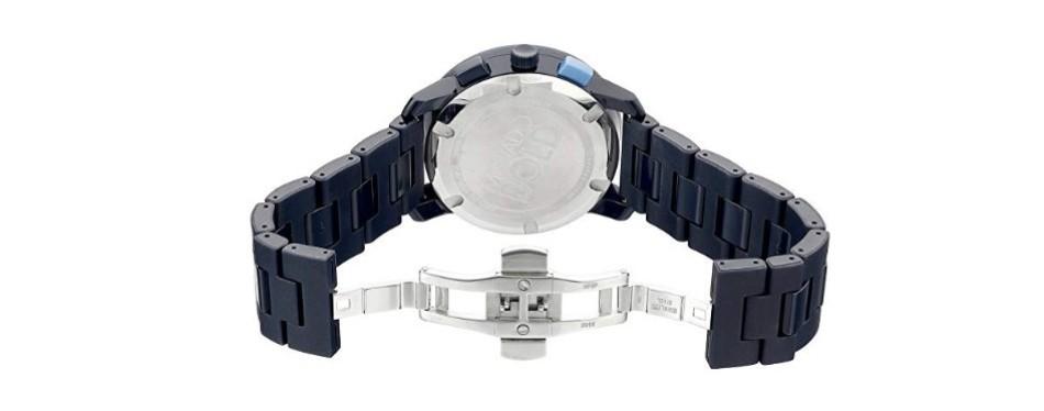 Movado Blue Quartz Watch