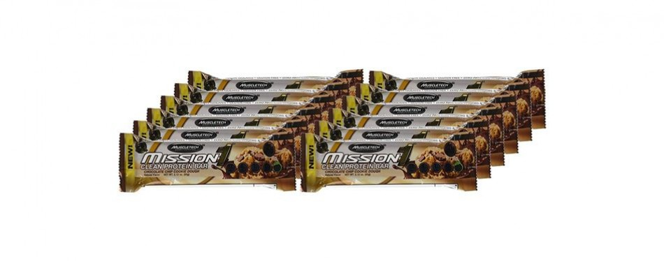 MuscleTech Mission 1 Protein Bars
