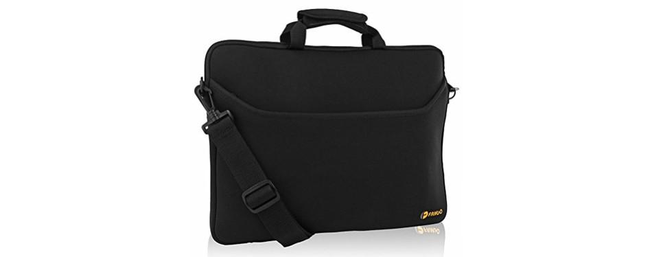 Neoprene Briefcase Laptop Bag Crossover
