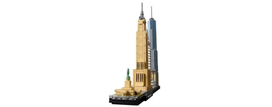 New York City Skyline Collection Lego Set For Adults