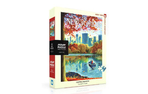New York Puzzle Company - New Yorker Central Park Row