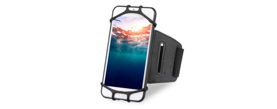 Newppon 180° Rotatable Running Phone Armband