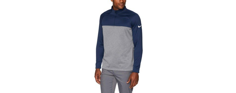 Nike Men's Therma Half Zip Golf Shirt