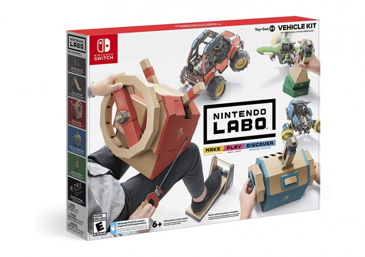 Nintendo Labo Toy-Con 3 Vehicle Kit