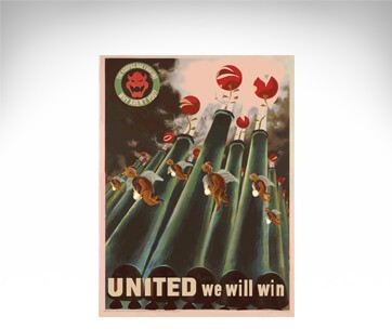 Nintendo Video Games Propaganda Posters