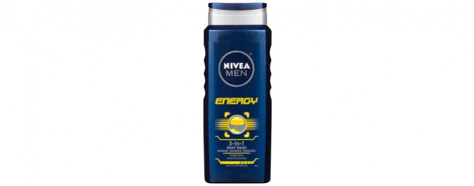 Nivea Men Energy 3-In-1 Body Wash