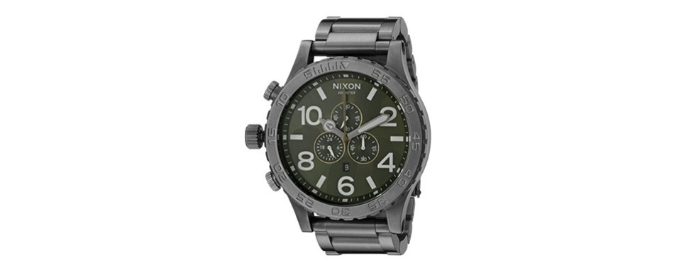 Nixon Chrono Japanese Quartz Watch