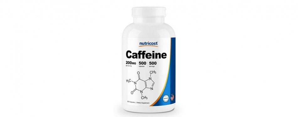 nutricost caffeine 200mg
