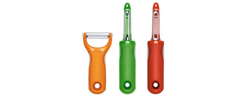 OXO 1137680 Good Grips 3-Piece Peeler Set