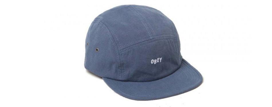 Obey 5 Panel Cap