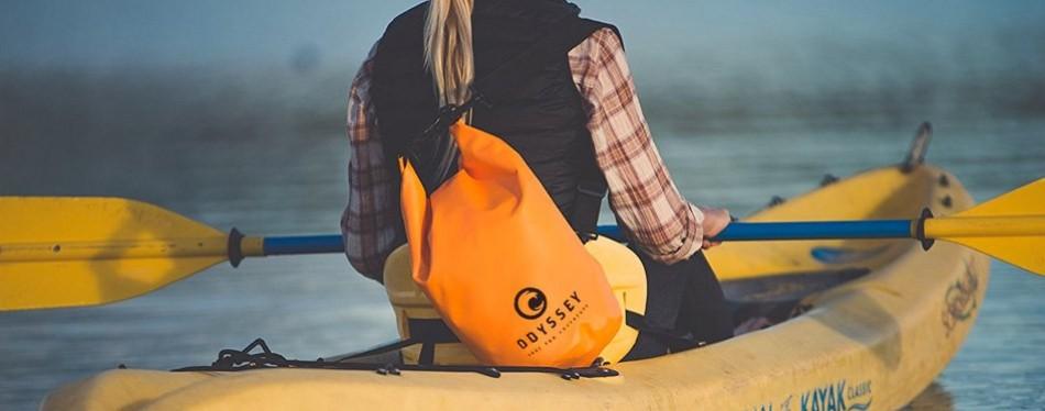 Odyssey Waterproof Backpack Roll Top