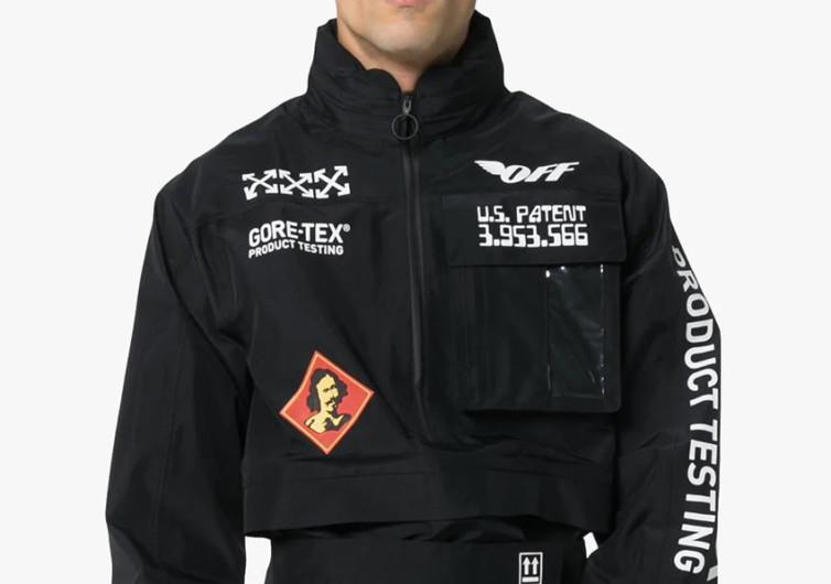 Off-White Gore-Tex Anorak Jacket