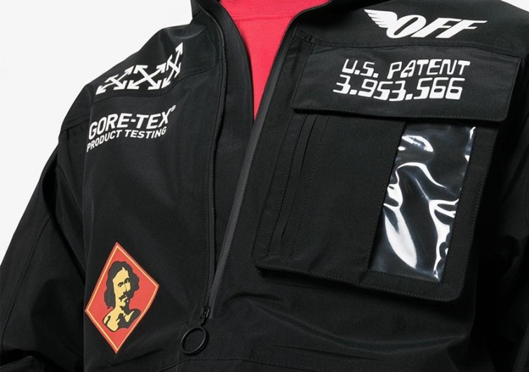 Off-White Gore-Tex Anorak Jacket